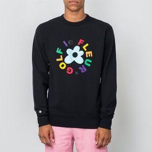 Converse X Golf Le Fleur Black Sweater